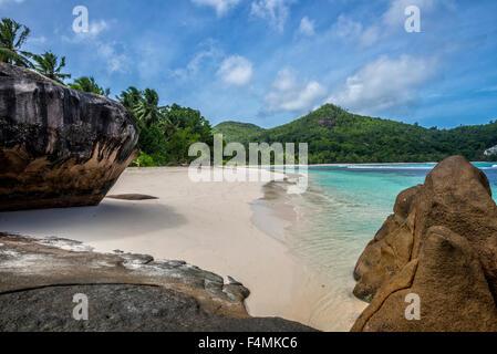 Baie Lazare, Mahe Island, The Seychelles - Stock Image