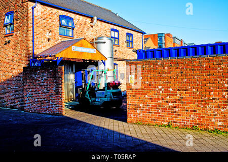 Kelham Island Brewery, Sheffield, England - Stock Image