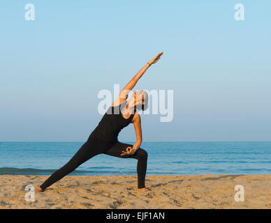 A woman - Stock Image