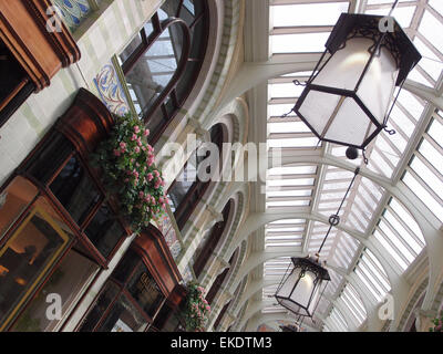 The Royal Arcade, Norwich, Norfolk, UK - Stock Image