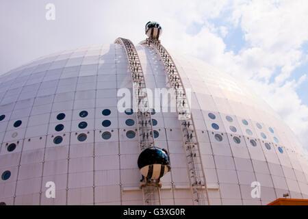 Stockholm Ericsson Globe - Stock Image