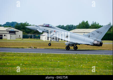 italian Air Force Typhoon F-2000A Eurofighter - Stock Image