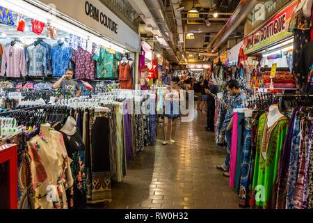Central Market, Clothing for Sale,  Kuala Lumpur, Malaysia. - Stock Image