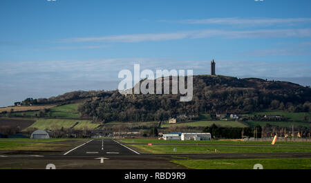 Ulster Flying Club and Newtownards aerodrome in Northern Ireland - Stock Image