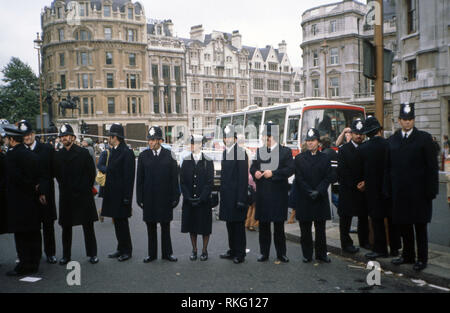 Mayday protest  in London  1992 - Stock Image