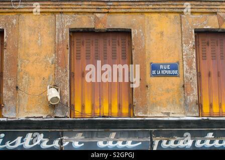 Rue de la Republique, France - Stock Image