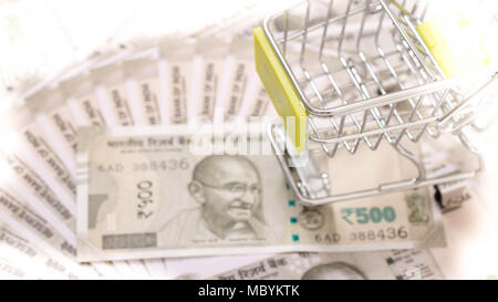 Indian currency - Stock Image