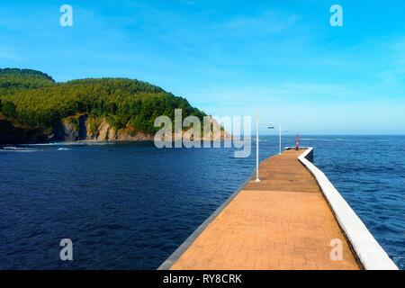 Armintza village and small port - Stock Image
