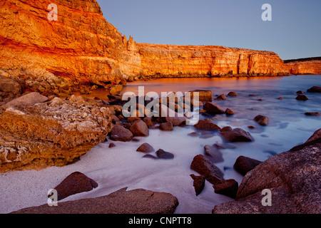 Wanna Cliffs. Eyre Peninsula. South Australia. - Stock Image