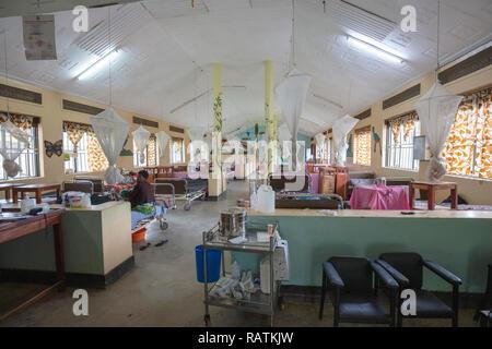 children's ward, Bwindi Community Hospital, Uganda, Africa - Stock Image
