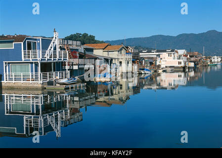 UNITED STATES OF AMERICA CALIFORNIA NORTH OF SAN FRANCISCO BAY WATER CASE Sausalito - Stock Image