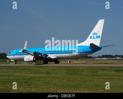 PH-BXC KLM Royal Dutch Airlines Boeing 737-8K2(WL) - cn 29133 4 - Stock Image