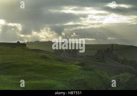 Scenery from Northern Ireland - Stock Image