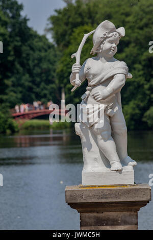 Charlottenburg Palace Berlin Germany - Stock Image