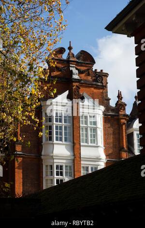Newnham College - Clough Hall, Sidgwick Avenue, Cambridge, UK. University of Cambridge - Stock Image