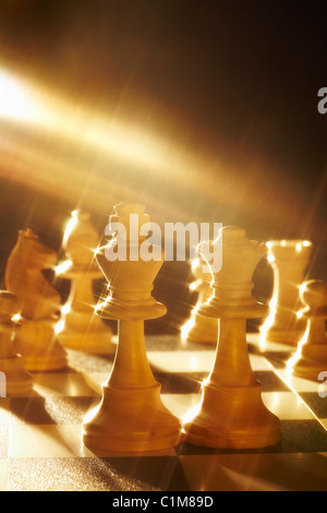 Royal Wedding, Chess Group - Stock Image