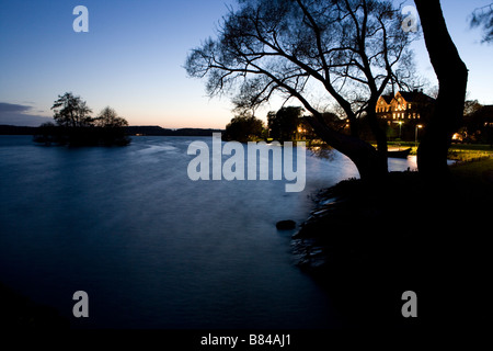 Sigtuna evening - Stock Image