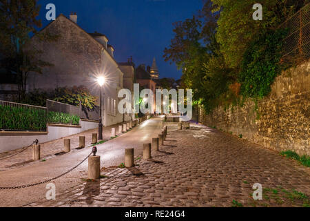Montmartre in Paris, France - Stock Image