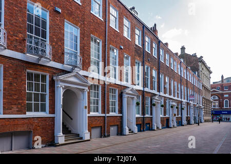 Parliament Street,Kingston upon Hull,England - Stock Image
