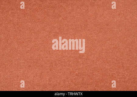 Brown colored paper close up. Large texture and background - Stock Image