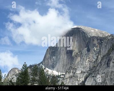 Half Dome, Yosemite National Park , USA - Stock Image
