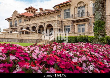 TPC Sawgrass Clubhouse facing the Stadium Course, home of The PLAYERS Golf Championship in Ponte Vedra Beach, Florida. (USA) - Stock Image