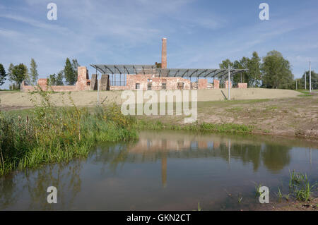 Preserved Raadi manor distillery building located on the territory of Estonian National museum. Tartu Estonia 21th - Stock Image