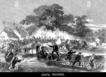 Second Opium War, 1858 - Stock Image