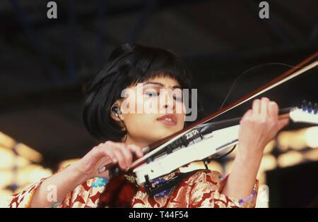 VANESSA-MAE English violinist in 1998 - Stock Image