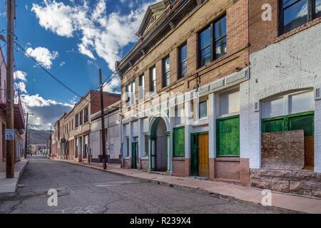 Abandoned Mining Town, Clifton Arizona USA - Stock Image