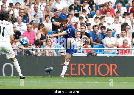 Madrid, Spain. 23rd June, 2019. Juliano Belletti (Chelsea) Football/Soccer : Friendly 'Corazon Classic Match 2019' between Real Madrid Leyendas 5-4 Chelsea Legends at the Santiago Bernabeu Stadium in Madrid, Spain . Credit: Mutsu Kawamori/AFLO/Alamy Live News - Stock Image