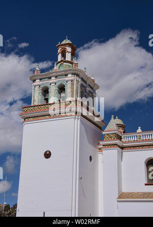 The Basílica de Nuestra Señora church in Copacabana, Bolivia - Stock Image