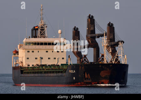 Finish bulker Pasila - Stock Image