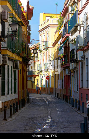 Alley in Seville,Spain - Stock Image