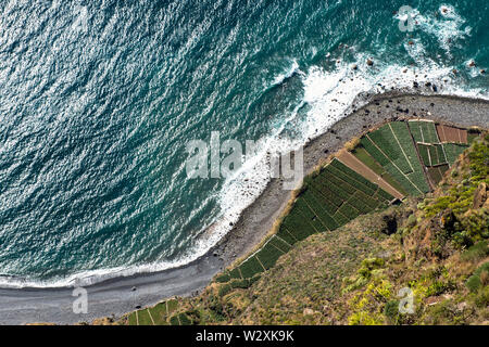 Portugal, Madeira Island, Cabo Girao - Stock Image