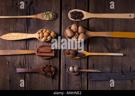 collection spice - Stock Image