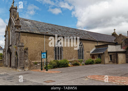 Augustinian Abbey in the town of Fethard in County Tipperary,Ireland. - Stock Image