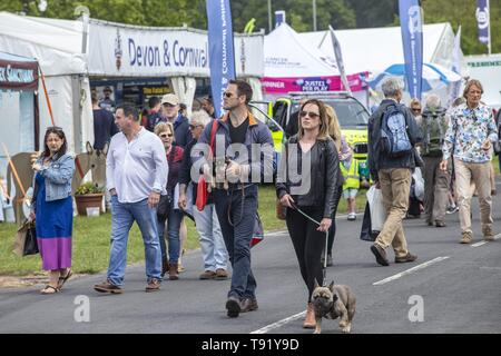 Exeter, Devon, UK. 16th May 2019 Crowds in their thousands on the first day of the Devon County Show, at the Westpoint Showground, Exeter Credit: Photo Central/Alamy Live News - Stock Image