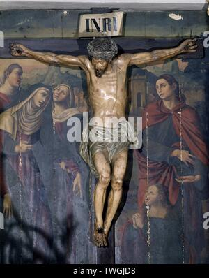 CRISTO DE LA BUENA MUERTE. Location: CATEDRAL-INTERIOR. Valencia. SPAIN. - Stock Image