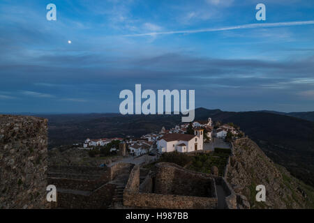 Marvao village, in Alentejo, Portugal - Stock Image