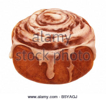 Sweet Roll - Stock Image