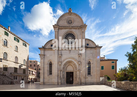 Cathedral of St. James, Sibenik, Croatia - Stock Image