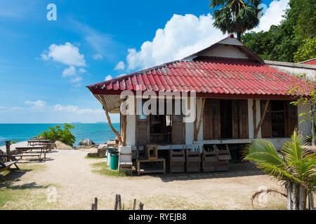 Lighthouse Restaurant back side in Phangan island, Thailand - Stock Image
