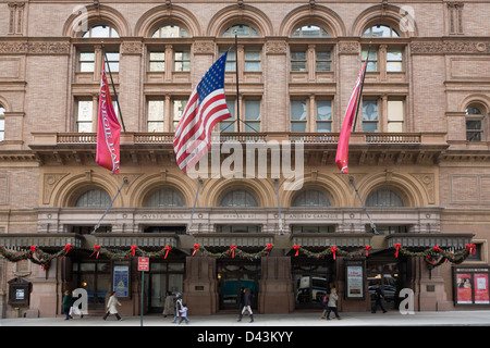 Carnegie Hall, Manhattan, New York City, New York, USA - Stock Image
