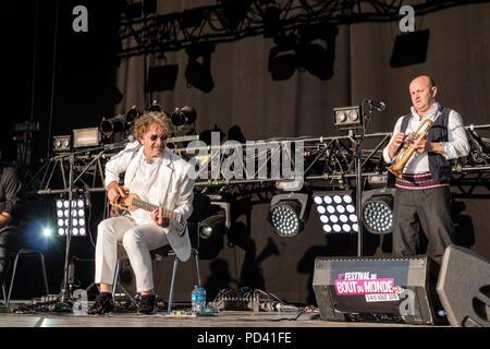 Goran Bregovic_, Festival Bout du Monde to  Crozon Brittany - Stock Image