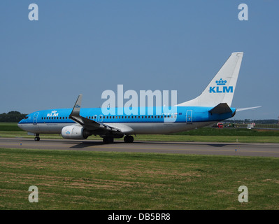 PH-BXH KLM Royal Dutch Airlines Boeing 737-8K2(WL) - cn 29597 4 - Stock Image