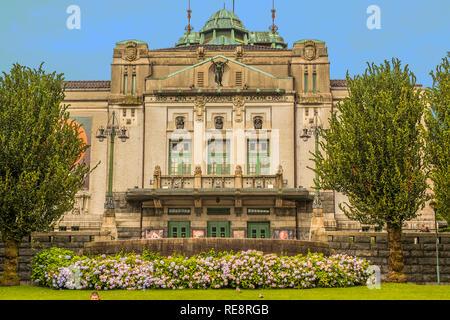 The Municipal Theatre, Bergen, Norway - Stock Image
