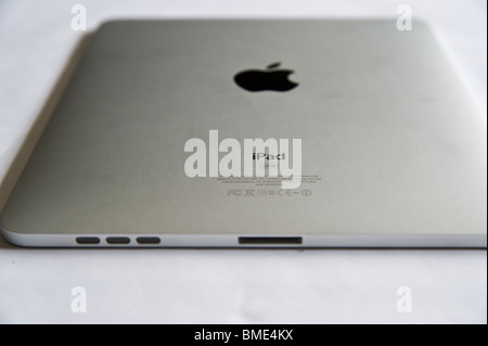 Apple iPad, Touchscreen Tablet Computer, Book Reader, Digital E book, Modern, Logo, Brand, Luxury - Stock Image