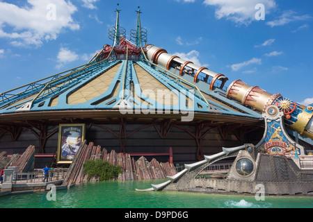 Space Mountain at Disneyland Paris - Stock Image