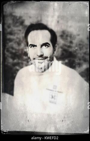 Chef Mario Sandoval in New York City - Stock Image